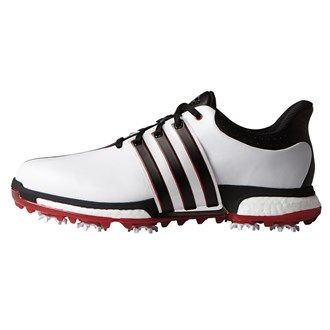 Adidas Golf Adidas Mens Tour 360 Boost Golf Shoes Featuring a premium leather upper with climaproofreg