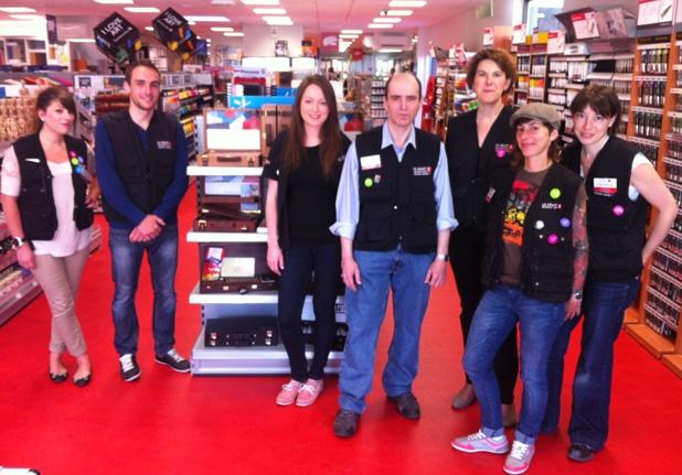 equipe du magasin g ant des beaux arts montpellier