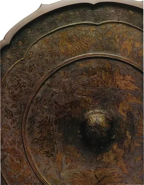 古奈良的歷史遺跡 山水八卦背八角鏡南倉