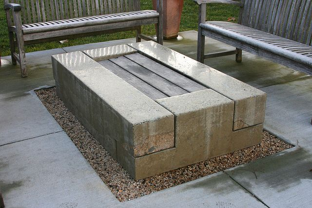 152 best smoke and fire cooking outdoors images on for Fire pit on concrete slab