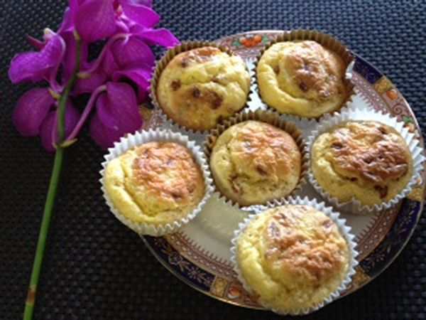 Cinnamon Goji Berry Muffins (MyDukanDiet.com) Attack +