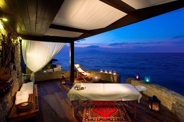 Massage by the Sea at Porto Zante Villas and Spa Zakynthos, Greece