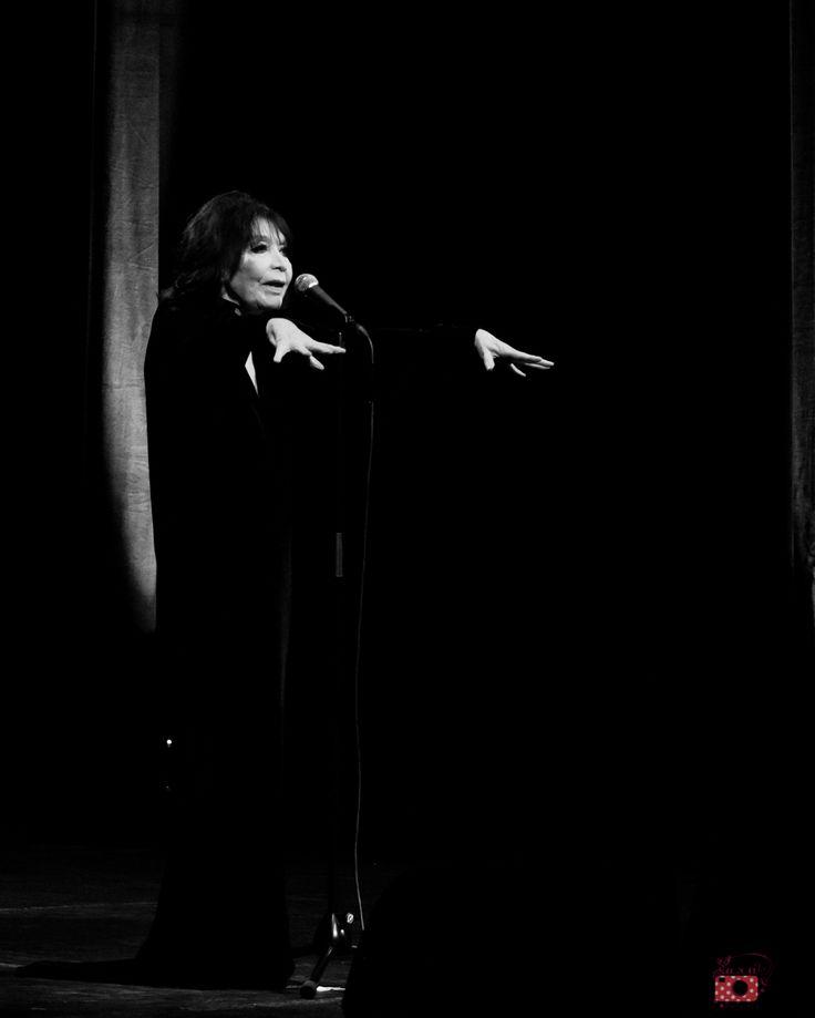 Juliette Gréco//Cirque Royal//Bruxelles — Lara Herbinia