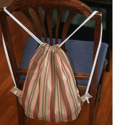 Free Mama Backpack Sewing Tutorial
