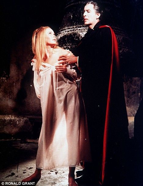 The cape Sir Christopher Lee wore in the 1958 horror film Dracula sold at auction today for £26,400.