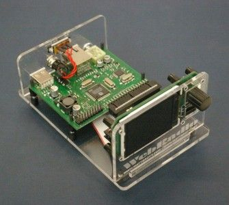 ARM microcontroller based web radio player.