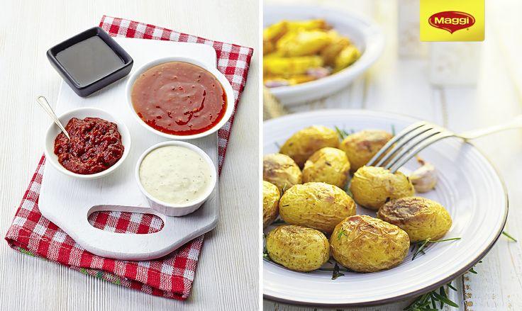 Cu MAGGI Ideea Zilei Cartofi Copti la punga cu usturoi https://www.maggi.ro/produse cina este gata!