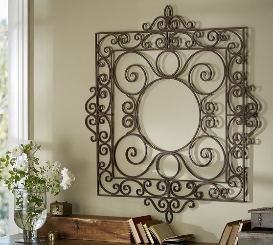 Garden Gate Wall Art Pottery Barn Family Room In 2019