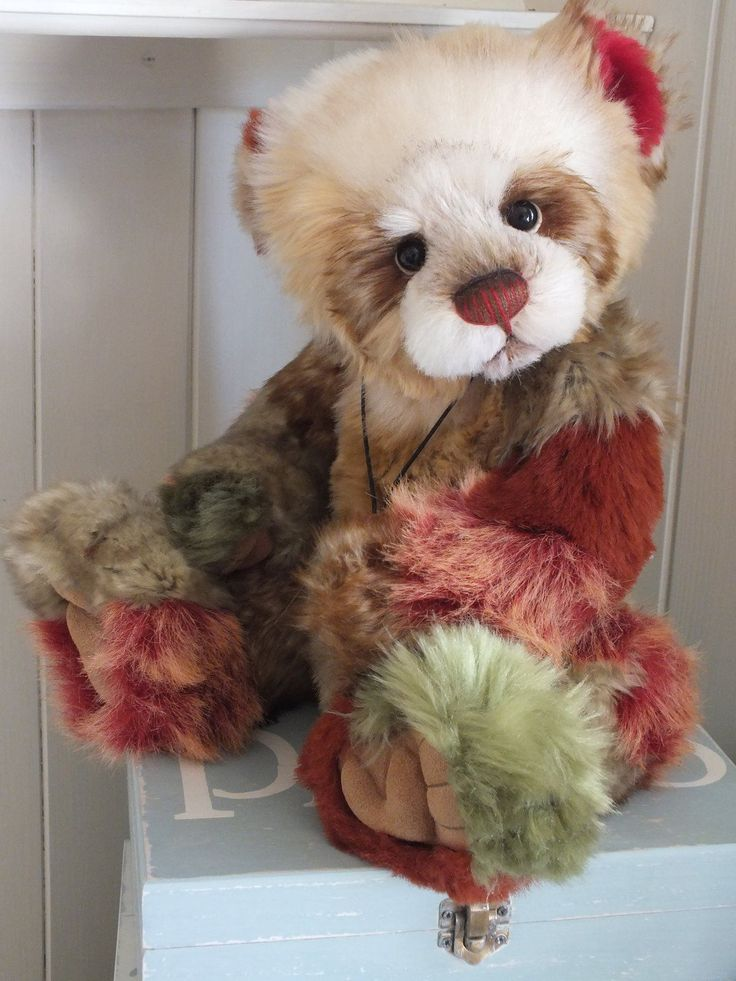 Charlie Bears Toffee Apple QVC Exclusive Limited Edition 2080/4000 Retired in Dolls & Bears, Bears, Artist | eBay