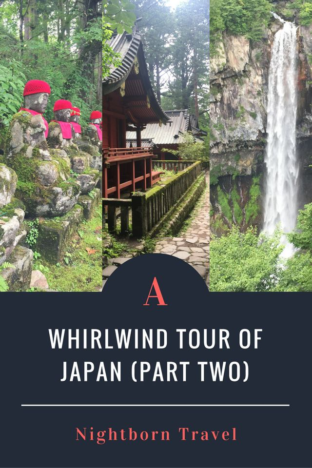 Part Two of Nightborn Travel's whirlwind tour of Japan. See Nara, Nikko, Sendai, and more of Tokyo via train. Nature and culture abound in this itinerary.
