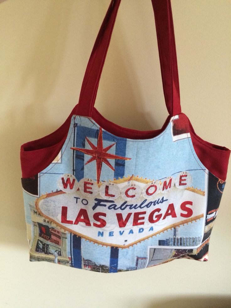 Tote bag from Debbie Shore free pattern