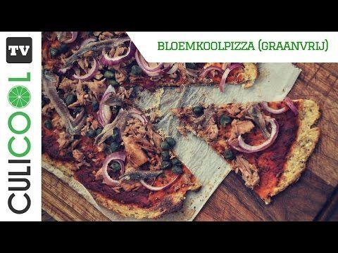 Bloemkoolpizza - CULICOOL