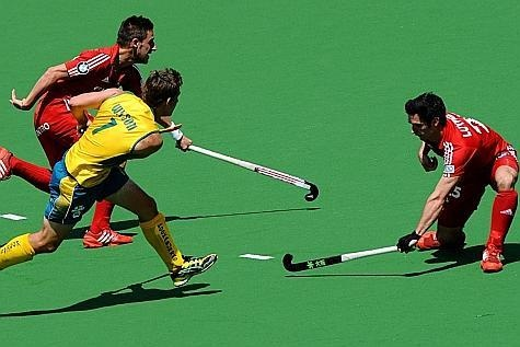 Champions Trophy : les Belges s'inclinent face à L'Australie | Hockey - lesoir.be