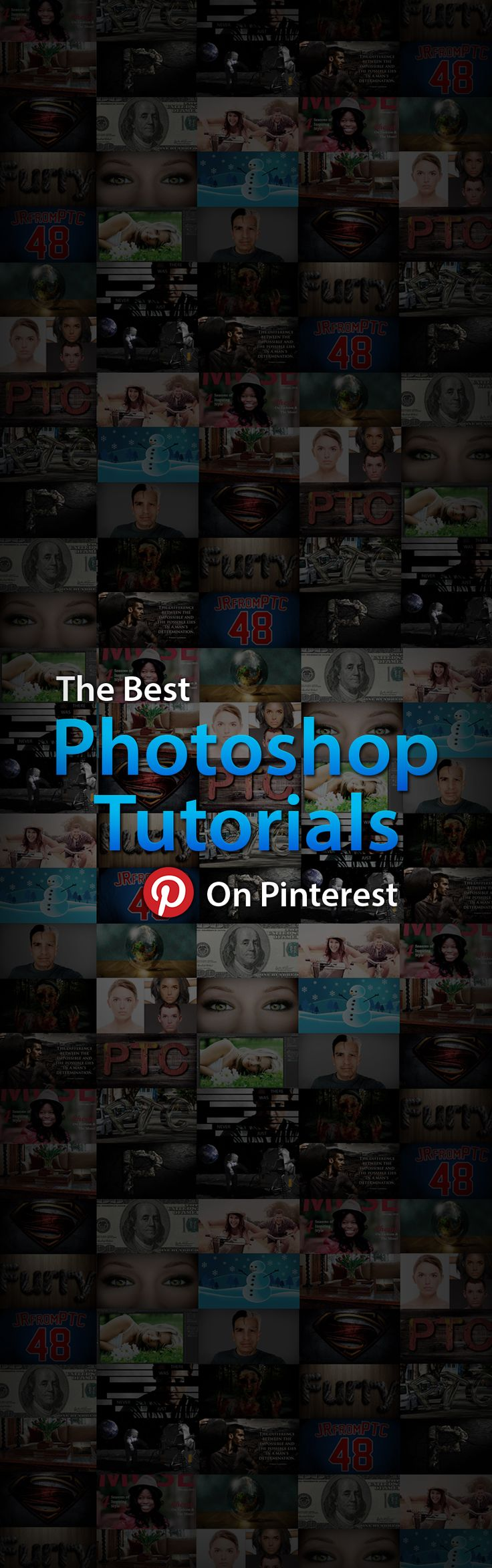 The Best Photoshop Video Tutorials on Pinterest! Check It Out!