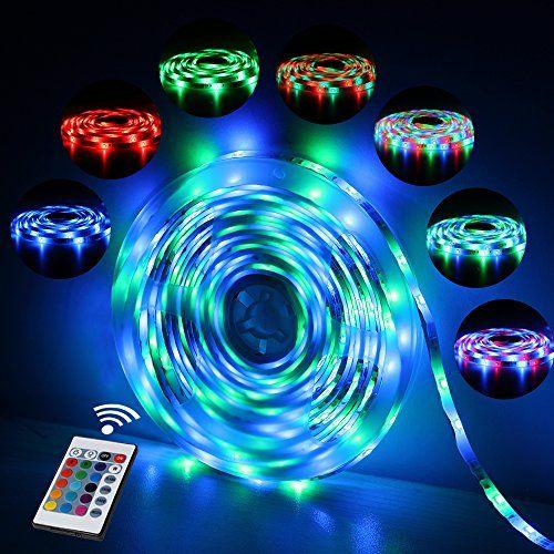Ruban LED Etanche 5M 2835 RGB   Innoo Tech Bande Lumineuse Flexible avec 300 Leds   Strip Light Ultralumineux et Multicolore   Télécommande Infrarouge 24 Touches + Adapteur + Alimentation 2A 12V   Lumière d'Ambiance comme Décoration Magnifique pour la Maison, le Salon d'Exposition et le Fond de TV etc. #Ruban #Etanche #Innoo #Tech #Bande #Lumineuse #Flexible #avec #Leds #Strip #Light #Ultralumineux #Multicolore #Télécommande #Infrarouge #Touches #Adapteur #Alimentation #Lumière #d'Ambiance…