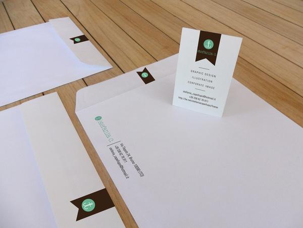 58 best business cardletter heads envelopes images on pinterest envelope business cards letter heads stefania c by stefania capellupo via behance colourmoves