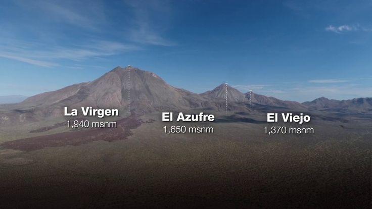 В городе Mulegé в штате Южная Нижняя Калифорния, расположен вулканический комплекс, который генерирует электричество...Complejo volcánico de las Tres Vírgenes, BCS
