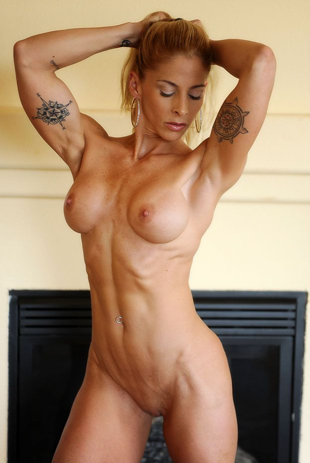 bodybuilder womans nude ass
