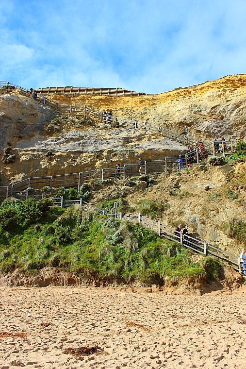 spots to stop great ocean road Gibsons Steps (86)