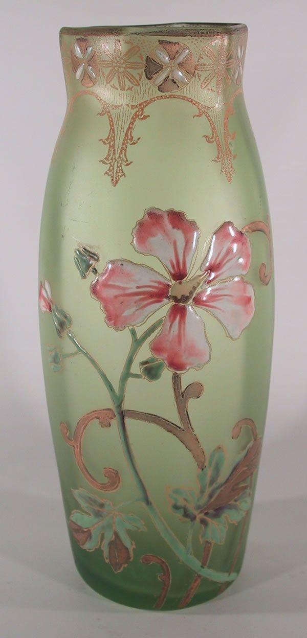 Legras Art Glass Vase Circa 1910:
