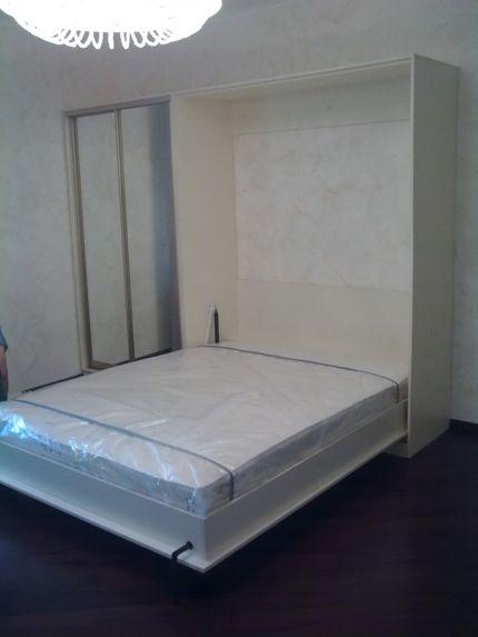 Откидные кровати, шкаф кровать трансформер цена, кровать с подъемным механизмом Киев