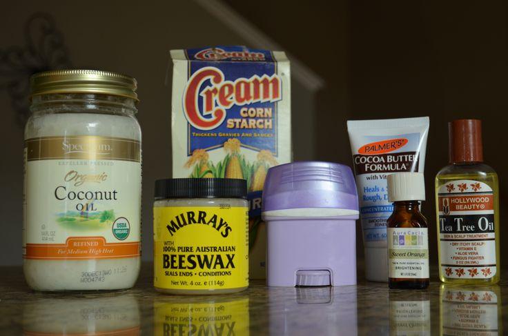Creamy Homemade Deodorant Antiperspirant