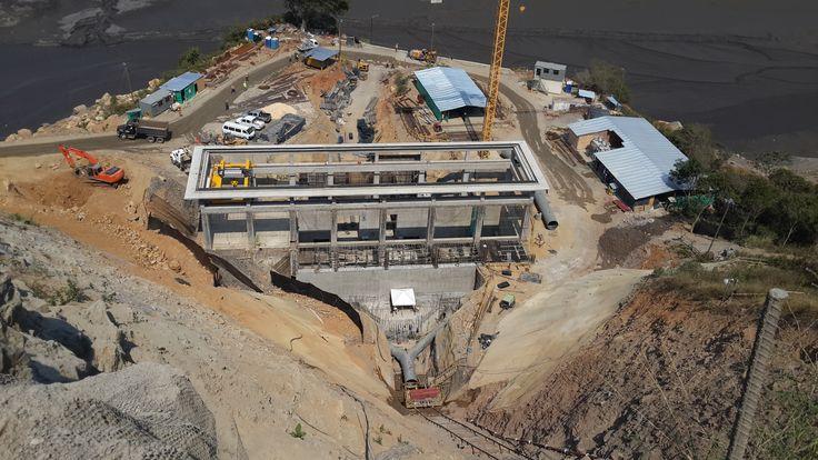 Proyecto Hidroeléctrica Tunjita, Ubicado en el departamento de Boyacá municipio de Macanal. Cliente: AES CHIVOR & CIA SCA ESP  Obra en ejecución