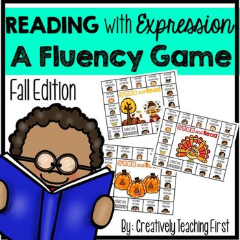 Reading with Expression {A Fluency Game- Fall Edition}