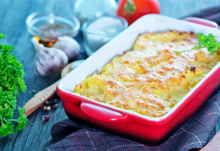 Exquisita receta de papas gratinadas en el horno, que les encanta a los niños y a toda la familia. Además, es súper fácil de hacer, no se necesita ser un experto en la cocina para lograr una perfecta receta.