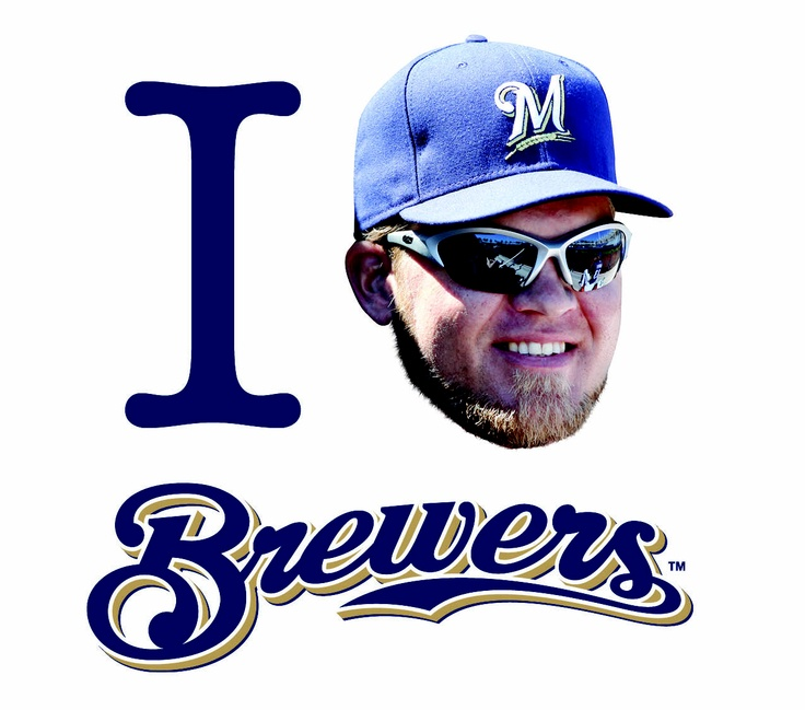 I love Corey #HART and the #Brewers!