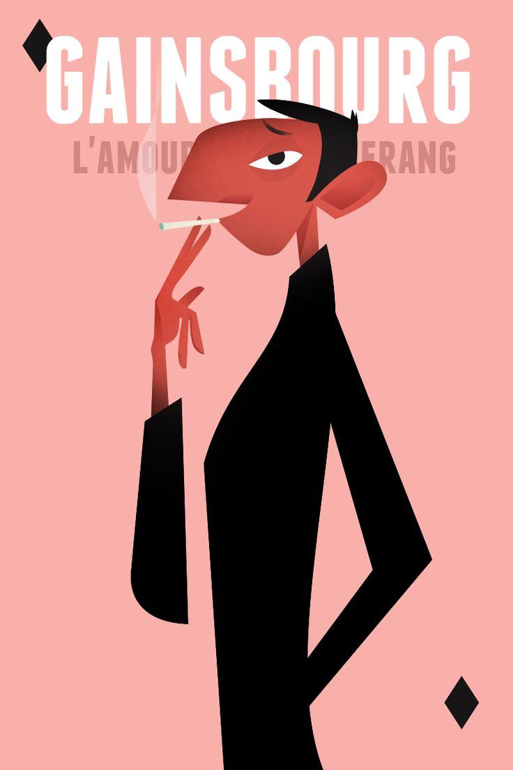 Gainsbourg by Laszlito Kovacs
