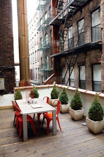 New York-loft... C'est bizarre comme le vis-à-vis ne me choque pas ici...