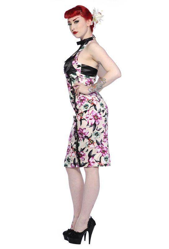 #Hawaii #Vintage #1950's #Pencil #halter jurk   Retro jurkjes   Misspoppywear, #retro boetiek