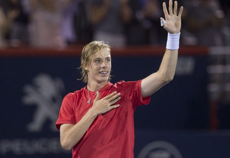 Canadian tennis // Rogers Cup 2017 (Day 6) // Picture : Denis Shapovalov (Copyright Paul Chiasson/The Canadian Press)