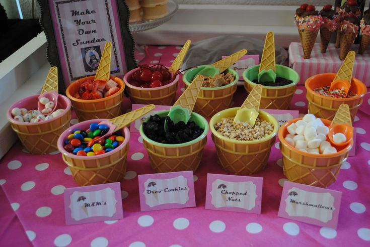 Meagan's How To: How to Host an Ice Cream Party