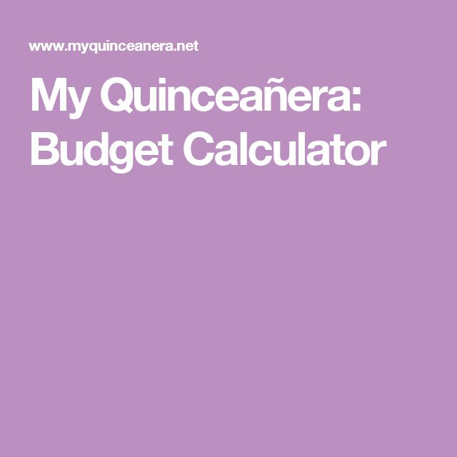 The 25+ best Budget calculator ideas on Pinterest Monthly budget - wedding budget calculators