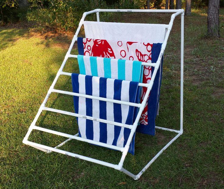 PVC Towel Holder - Actual tutorial to make it