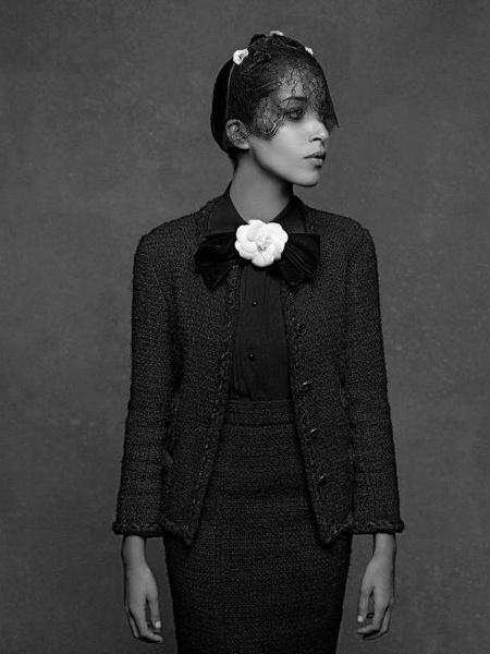 A petite veste noire