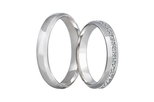 Snubní prsteny - model č. 282/02