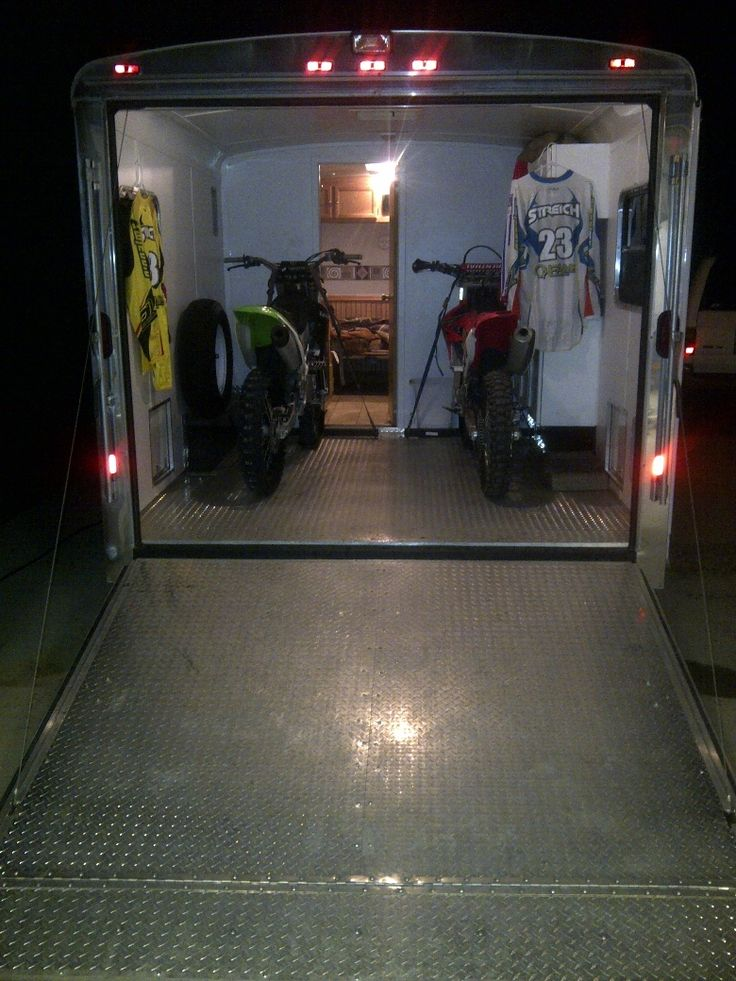 Your enclosed trailer setups - show 'em - Moto-Related - Motocross Forums / Message Boards - Vital MX
