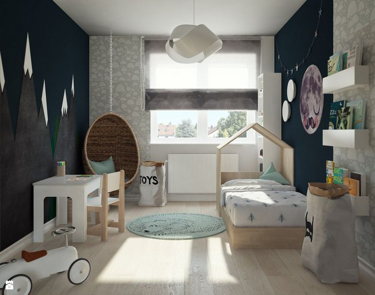 Pokój chłopca - zdjęcie od Karolina Krac architekt wnętrz - Pokój dziecka - Styl…