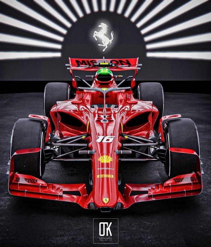2022 Concept Ferrari Ferrari Car Formula 1 Car