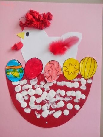 chicken craft | Crafts and Worksheets for Preschool,Toddler and Kindergarten