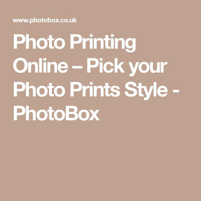 Photo Printing Online – Pick your Photo Prints Style - PhotoBox