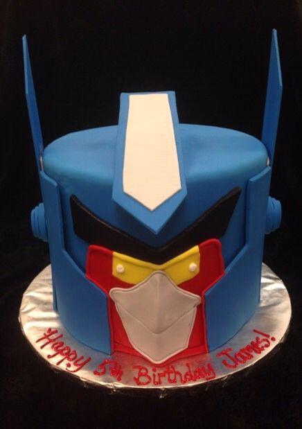 Transformers Angry Bird