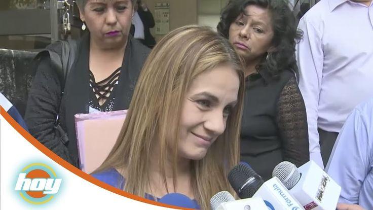 Flor Rubio y Pepillo Origel CARA A CARA! en los juzgados (VIDEO)  #EnElBrasero  http://ift.tt/2sZuk4t  #florrubio #pepilloorigel