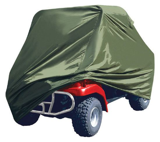 Armor Shield 4 x 4 UTV Utility Vehicle Storage Protective Indoor/Outdoor Cover, Fits Vehicles up to 110'' Long, Olive Color (Fits Vehicles without Cabin/Rollbar/Roof)