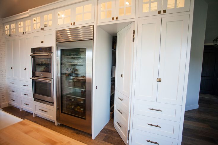 Love The Upper Display Cabinets Fridge Amp Disappearing