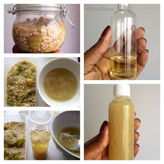 This stuff is amazing and so easy to make - Okra Leave- in conditioner with lots of moisture and slip for curly and natural hair textures. Check out this easy recipe.