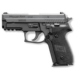 "SIG Sauer P229 Semi Automatic Handgun .40 S 3.9"" Barrel 10 Rounds Night Sights Polymer Grips Black Nitron Finish"